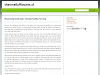 Thesmellofflowers.cf