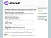 Juliabase.org