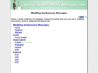 weddinganniversarymessages.com
