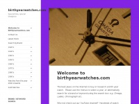 birthyearwatches.com