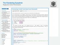 Thewanderingsysadmin.net
