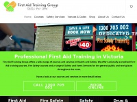 firstaidtraininggroup.com
