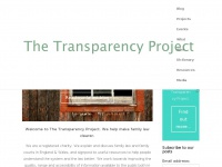 Transparencyproject.org.uk
