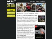 webuyjunkcarsforcashmiamisprings.com