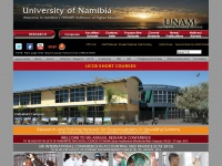 Unam.na - Welcome to the University of Namibia / UNAM