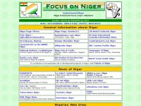 Focus on Niger - Information about the Republic of Niger