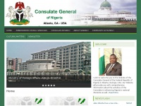 Official Website of the Consulate General of Nigeria – Atlanta, GA, USA | Consulate General of Nigeria – Atlanta, GA, USA