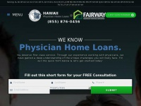 hawaiiphysicianhomeloans.com