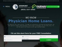 vermontphysicianhomeloans.com