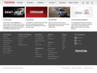 Toyota South Africa | Home of the Toyota Corolla, Hilux Bakkie, 4x4 Land Cruiser and many more of SA's favourite vehicles - Toyota South Africa