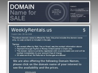 weeklyrentals.us