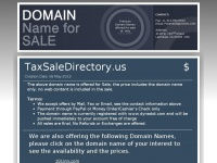 Taxsaledirectory.us