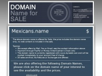 mexicans.name