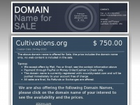 cultivations.org