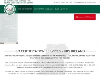 urscertification.ie