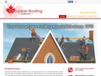 canadianroofingsystems.ca Thumbnail