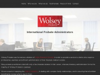 Wolsey-probate.co.uk