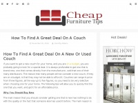 cheapfurnituretips.com