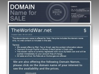Theworldwar.net