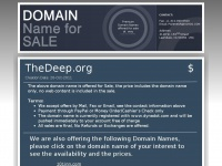 Thedeep.org