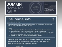 thechannel.info