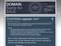 oversizeluggage.com