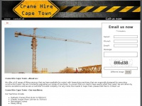 cranehirecapetown.com