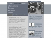 International Crimes Strategy Forum (ICSF) - Main Portal