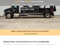 heavydutytowingfortlauderdale.com