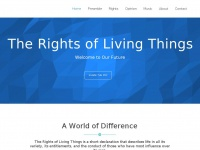 Therightsoflivingthings.earth