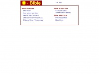 O-bible.com - Chinese and English Bible Online
