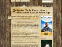 Routertableplans.org