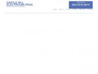 castlehillelectrician.com