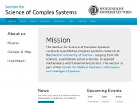 complex-systems.meduniwien.ac.at Thumbnail