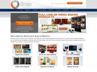 originmenuboards.com