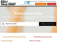 educationweekjobs.co.uk Thumbnail