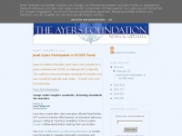 Theayersfoundationblog.org