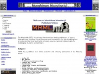 Munshiram Manoharlal: Leading Publishers, Booksellers, Distributors, and Exporters of Academic Books