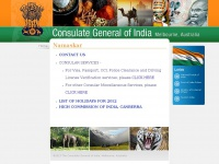 Welcome to Consulate General of India - Melbourne, Australia