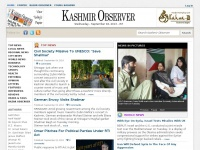 Daily Latest Breaking News from Kashmir, Jammu, India, Pakistan Newspaper :: Kashmir Observer
