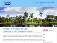 Oceansidetitle.net