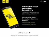 Text911ct.org