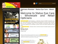 Status Eye Care - Shop Online For Eyeglasses, Designer Sunglasses and Contact Lenses. Opticians In Mumbai - India