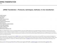 Sirnatransfection.org