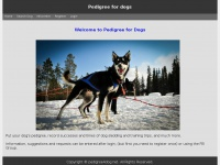 Pedigree4dog.net